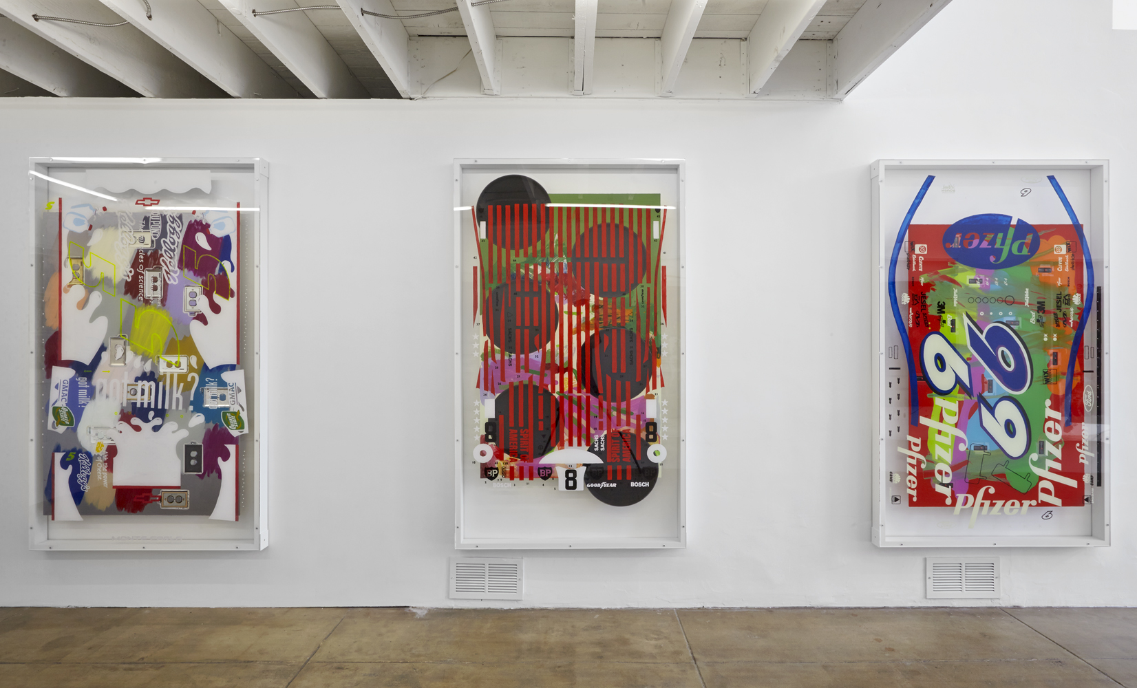 SEAN KENNEDY MIXED MESSAGES THOMAS DUNCAN GALLERY 2013 INSTALLATION VIEW