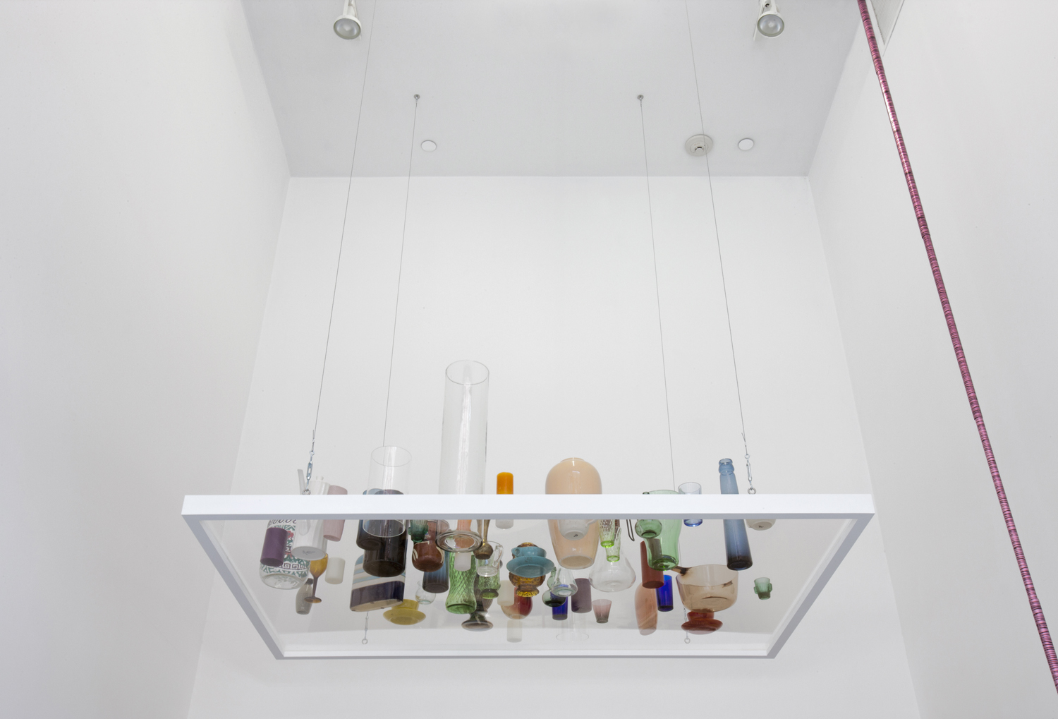SEAN KENNEDY UNTITLED NY 2012 VESSEL PIECE INSTALLATION VIEW
